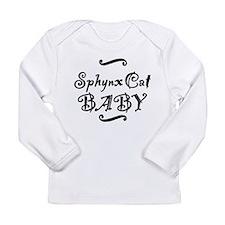 Sphynx Cat BABY Long Sleeve Infant T-Shirt
