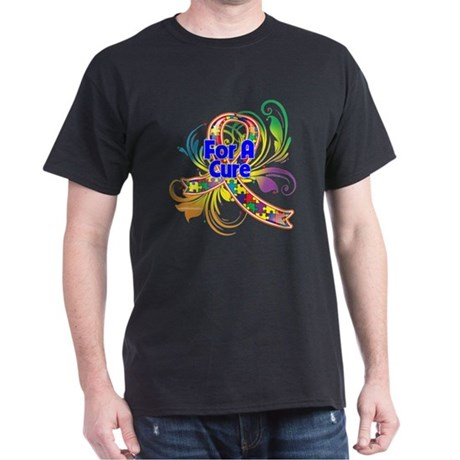 Autism For A Cure Dark T-Shirt