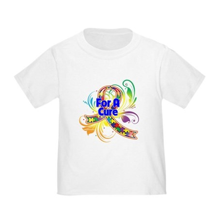 Autism For A Cure Toddler T-Shirt