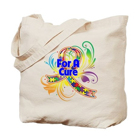 Autism For A Cure Tote Bag