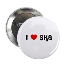 "I * Ska 2.25"" Button (10 pack)"