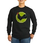 Ancona Rooster Long Sleeve Dark T-Shirt