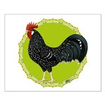 Ancona Rooster Small Poster
