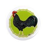 "Ancona Rooster 3.5"" Button (100 pack)"
