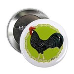 """Ancona Rooster 2.25"""" Button"""