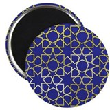 Gold Islamic Art Star Pattern Magnet