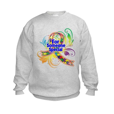 Autism For Someone Special Kids Sweatshirt