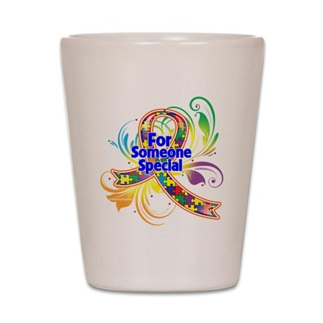 Autism For Someone Special Shot Glass