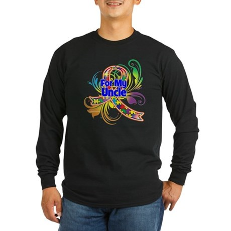 Autism For Someone Special Long Sleeve Dark T-Shir