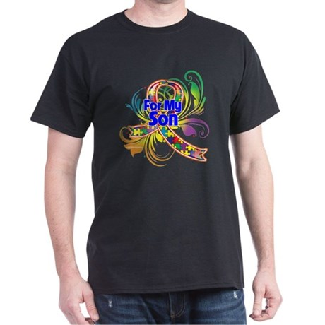 Autism For My Son Dark T-Shirt