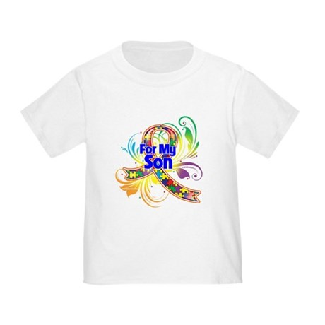Autism For My Son Toddler T-Shirt