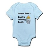 Drinking Buddy (Editable) Infant Bodysuit
