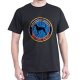 Bluetick Coonhound Black T-Shirt