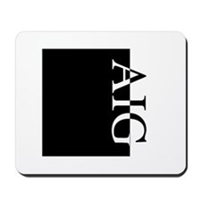 AIG Typography Mousepad