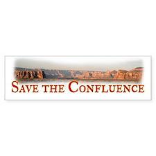 Save the Confluence Bumper Sticker