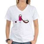 Tania Howells for Knitty Women's V-Neck T-Shirt
