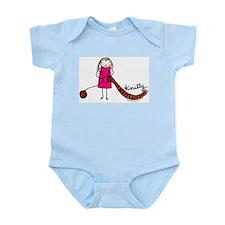 Tania Howells for Knitty Infant Bodysuit
