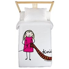 Tania Howells for Knitty Twin Duvet