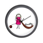 Tania Howells for Knitty Wall Clock