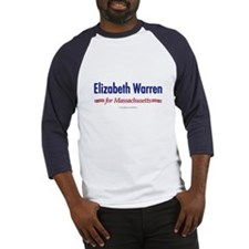 """Elizabeth Warren for MA"" Baseball Jerse"