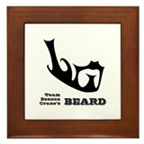 Team Seneca Crane's Beard Framed Tile