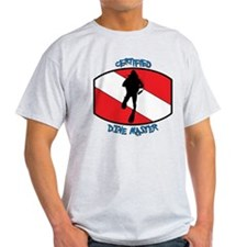 """Certified Dive Master"" T-Shirt"