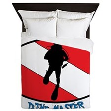 """Certified Dive Master"" Queen Duvet"