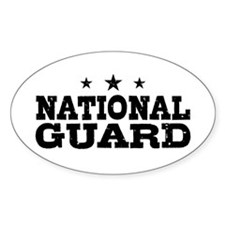National Guard Decal