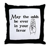 Hunger Games Salute Throw Pillow