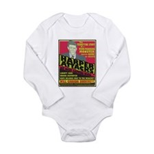 Harper Attacks / Long Sleeve Infant Bodysuit