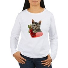 Gray Kitten Momma's Girl T-Shirt