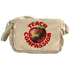 Teach Compassion Messenger Bag