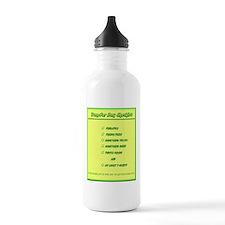 Transfer Day Checklist Water Bottle