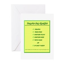Transfer Day Checklist Greeting Cards (Pk of 20)
