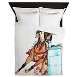 Barrel Racer Queen Duvet