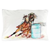 Barrel Racer Pillow Case