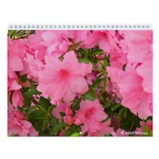 Pink Azalea Picture Wall Calendar