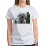 Cute Maltese art Tee