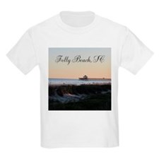 Folly Beach, SC Pier T-Shirt