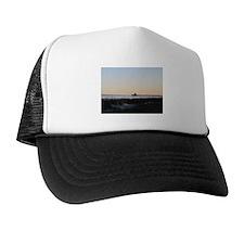 Folly Beach, SC Pier Trucker Hat
