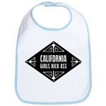 California Girls Kick Ass Bib