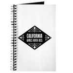 California Girls Kick Ass Journal