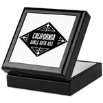 California Girls Kick Ass Keepsake Box