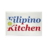 Filipino Kitchen Rectangle Magnet