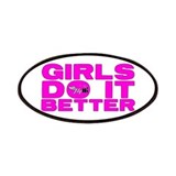 """Girls Do It Better"" Patches"