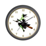 Wicked Witch Of the West Wall Clock