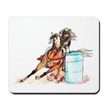 Barrel Racer Mousepad