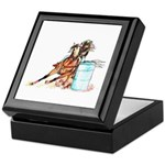 Barrel Racer Keepsake Box