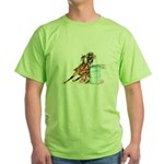Barrel Racer Green T-Shirt