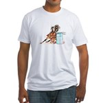 Barrel Racer Fitted T-Shirt